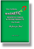 How to Make Magnetic Business Cards | Fridge Magnets - graphic